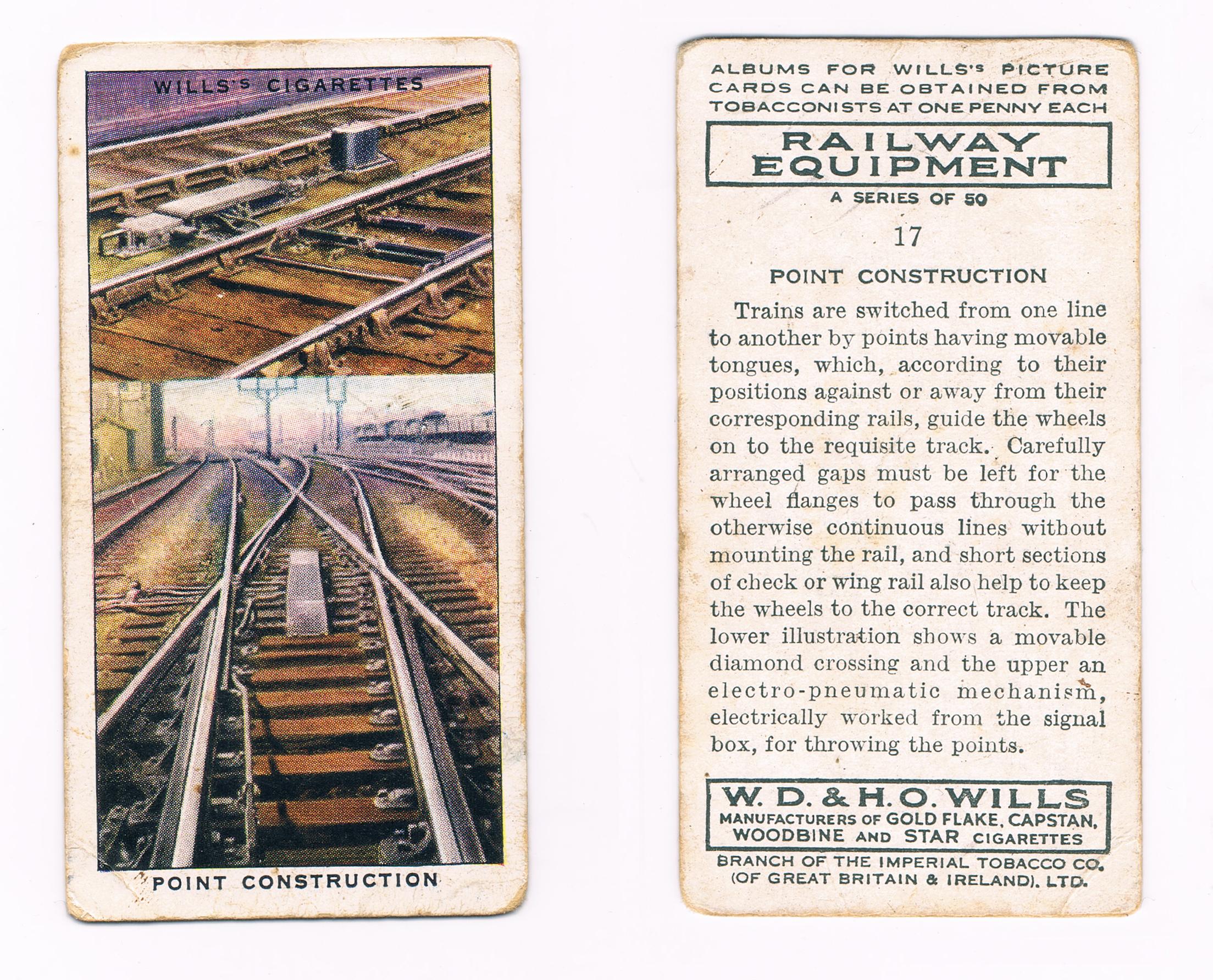 wills cigarettes card